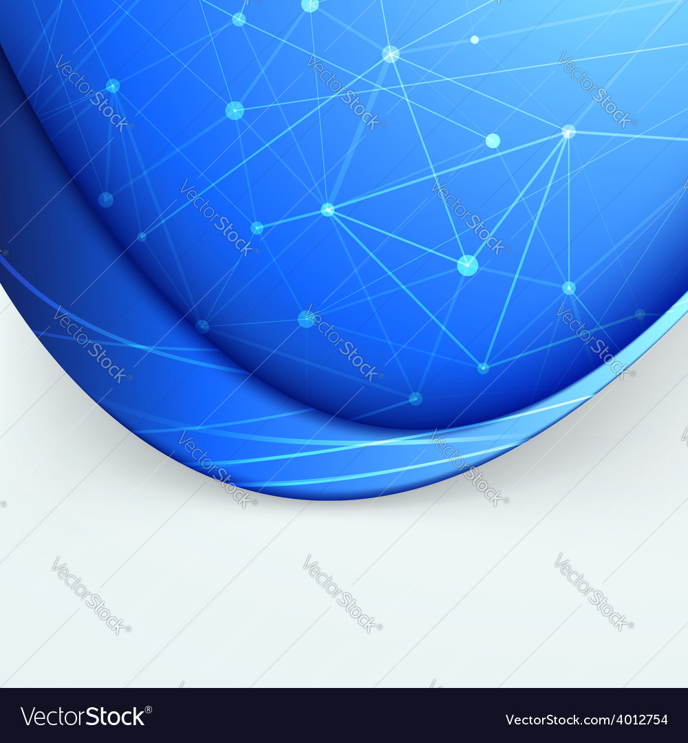 Connection smooth swoosh wave folder net vector   Price: 1 Credit (USD $1)