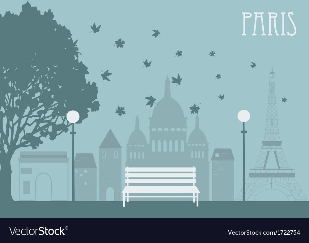 Park in paris vector   Price: 1 Credit (USD $1)