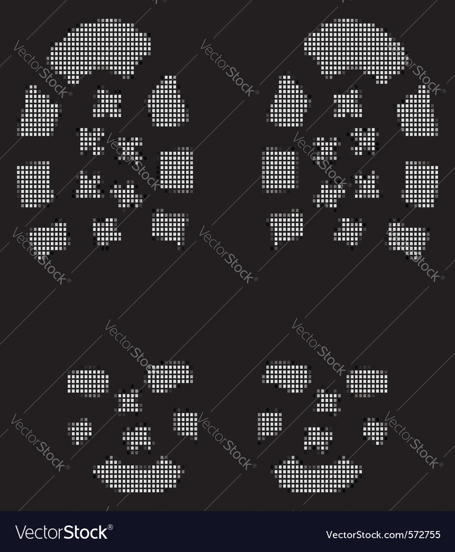 Grunge bootprints vector | Price: 1 Credit (USD $1)