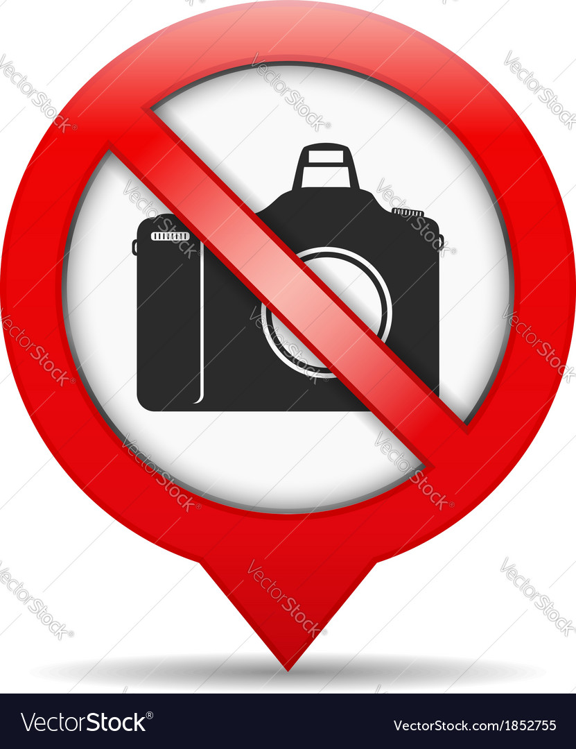 No photo sign vector | Price: 1 Credit (USD $1)