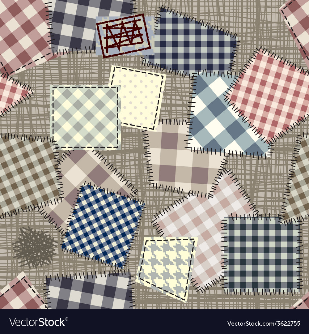 Patch pattern vector | Price: 1 Credit (USD $1)