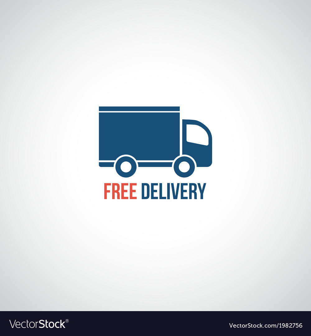 Free delivery icon vector | Price: 1 Credit (USD $1)