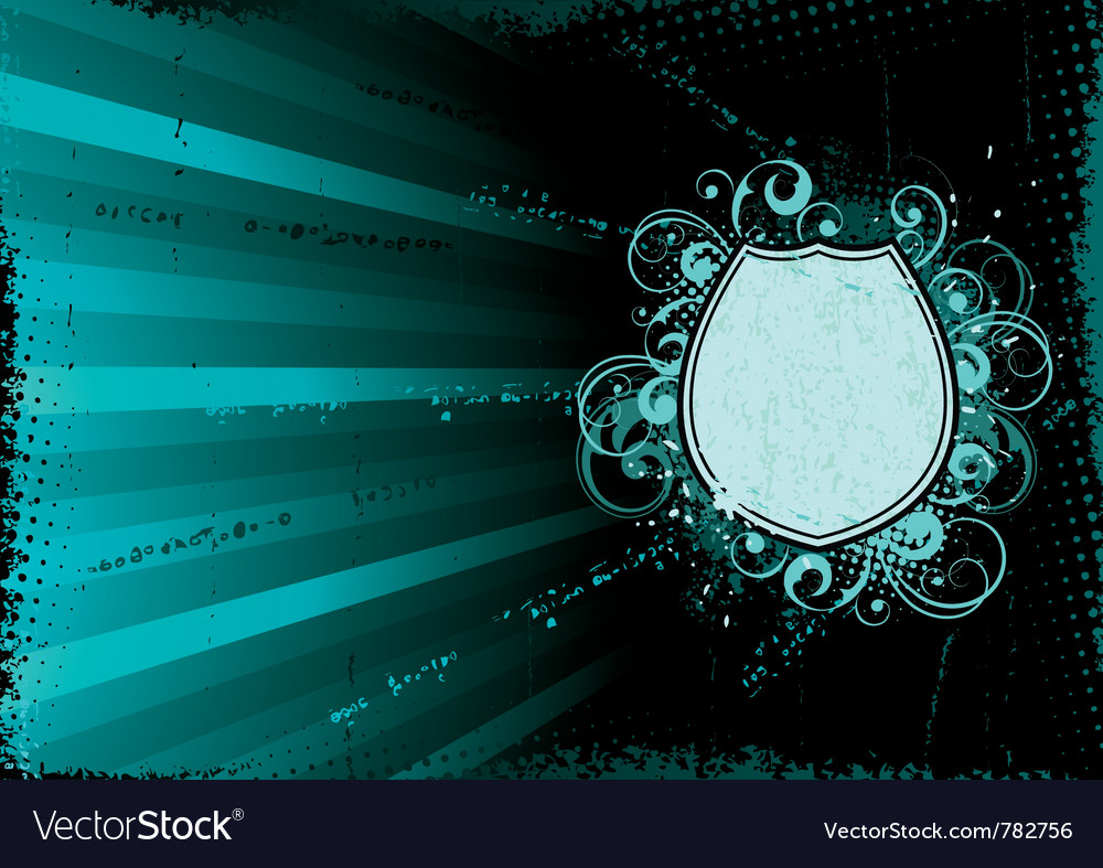 Turquoise abstract background vector | Price: 1 Credit (USD $1)