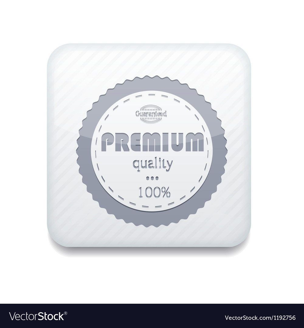 White premium quality icon eps10 easy to edit vector | Price: 1 Credit (USD $1)