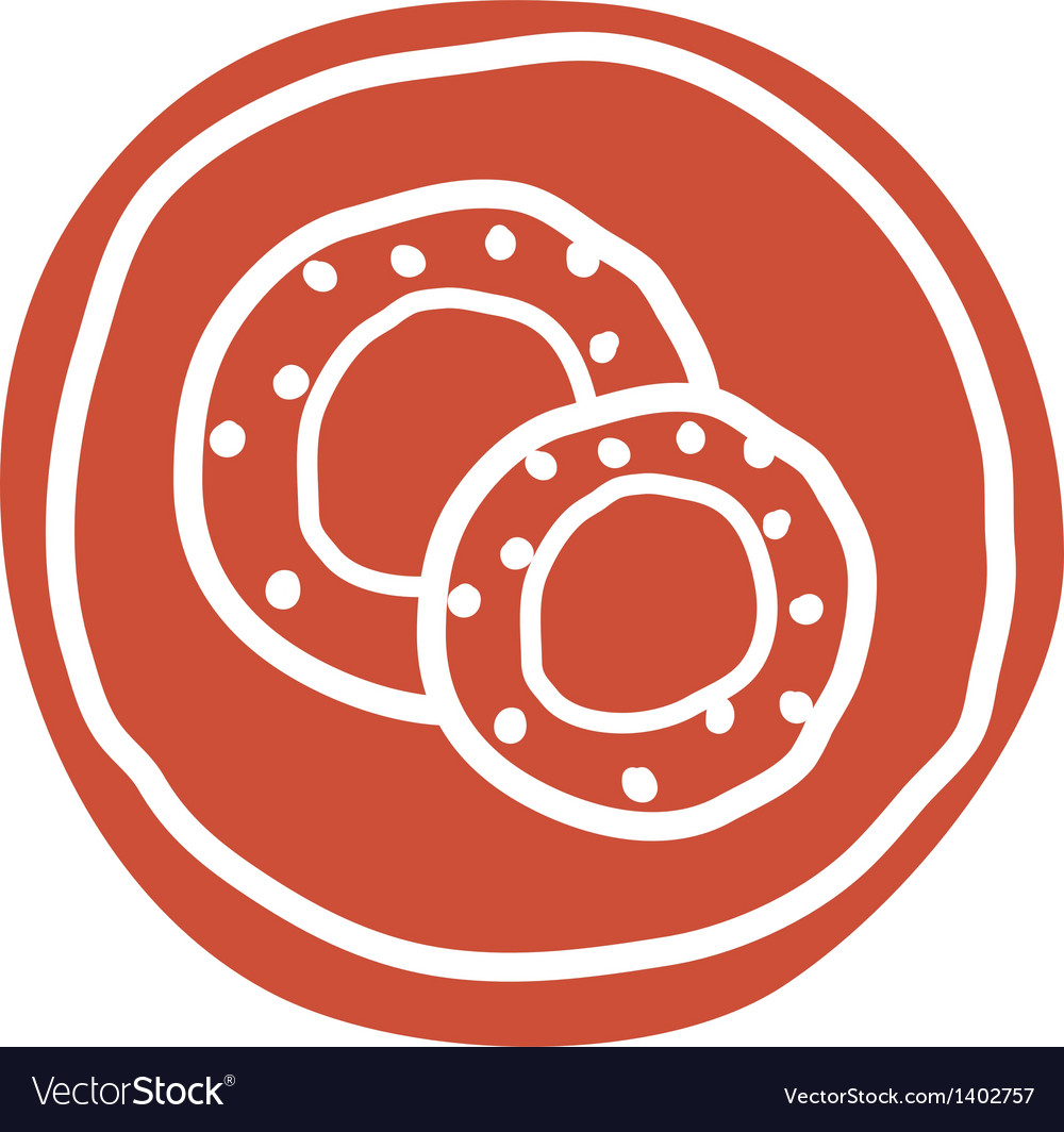 A doughnut vector | Price: 1 Credit (USD $1)