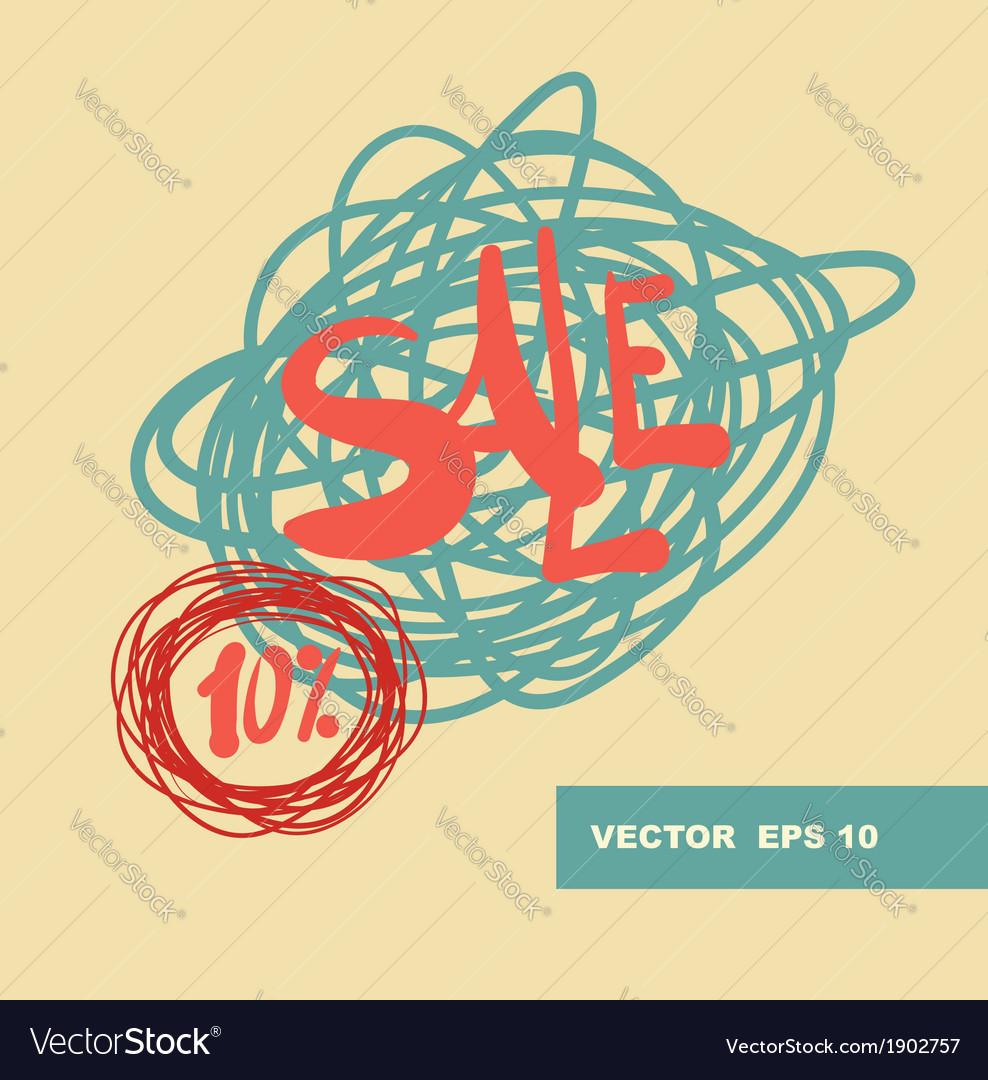 Handwrittern design elements vector | Price: 1 Credit (USD $1)