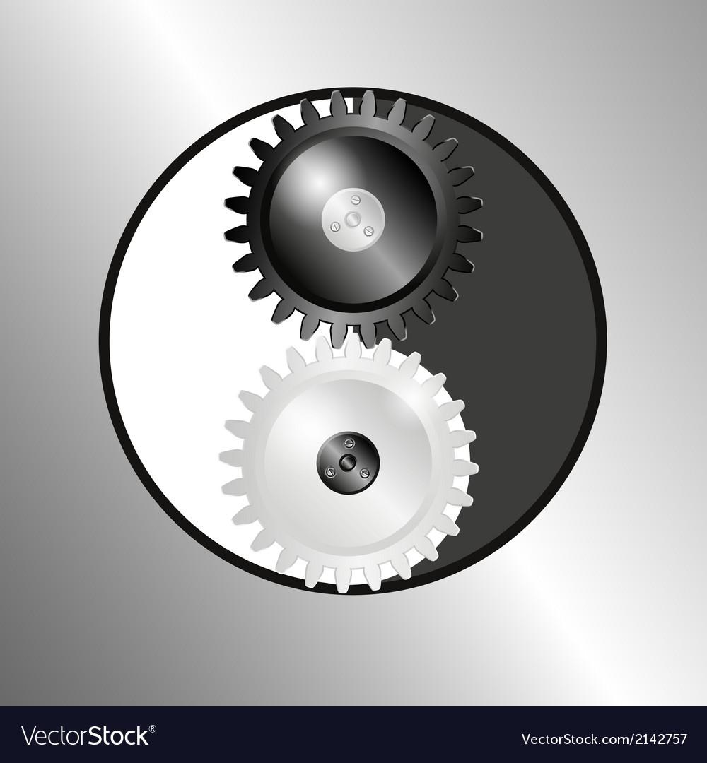 Symbol yin yang vector   Price: 1 Credit (USD $1)