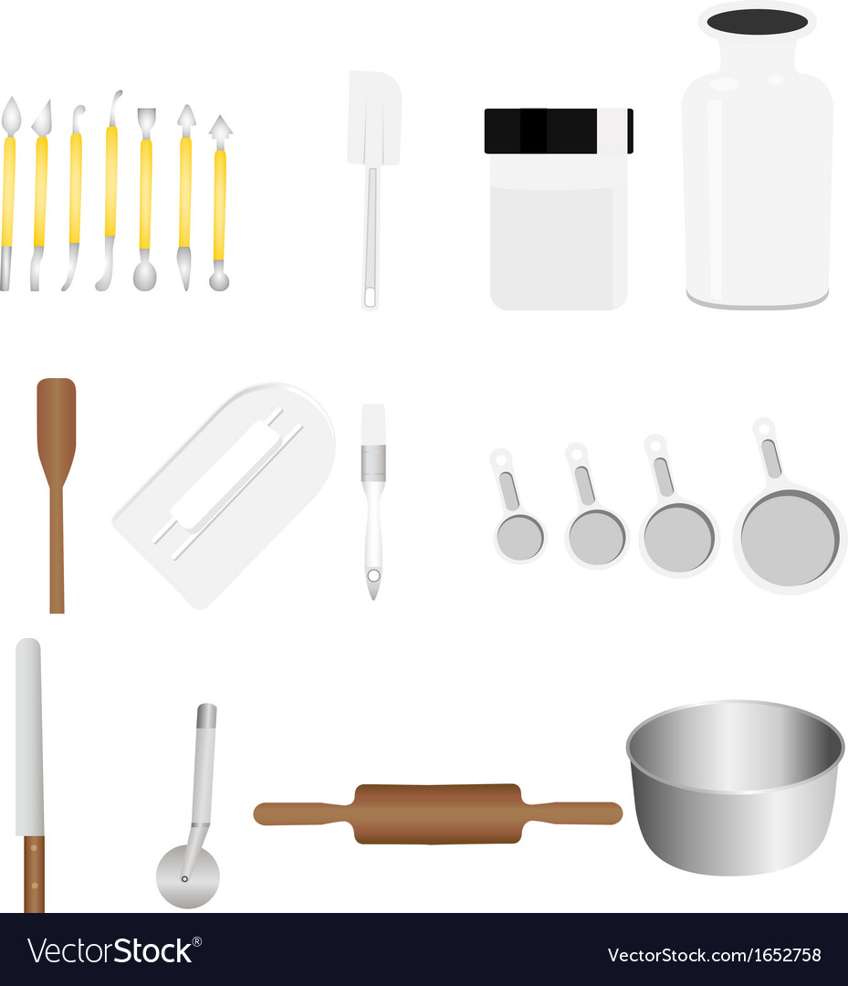 Bakery tool vector | Price: 1 Credit (USD $1)