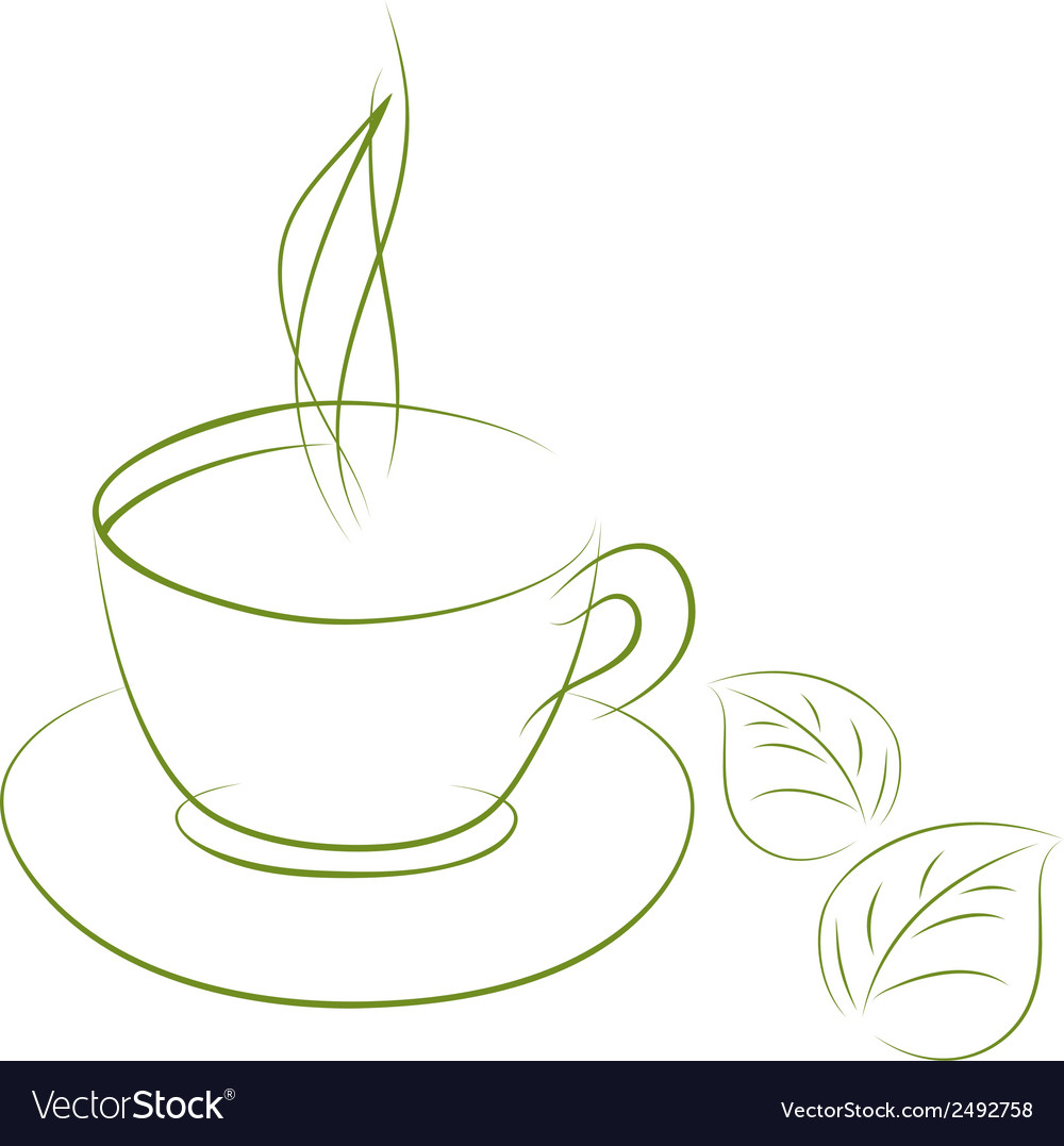 Cup green vector | Price: 1 Credit (USD $1)