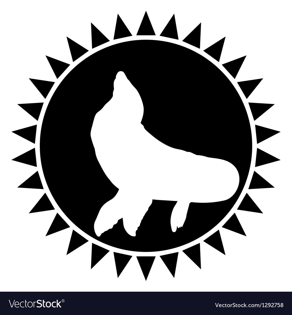 Seal vector | Price: 1 Credit (USD $1)