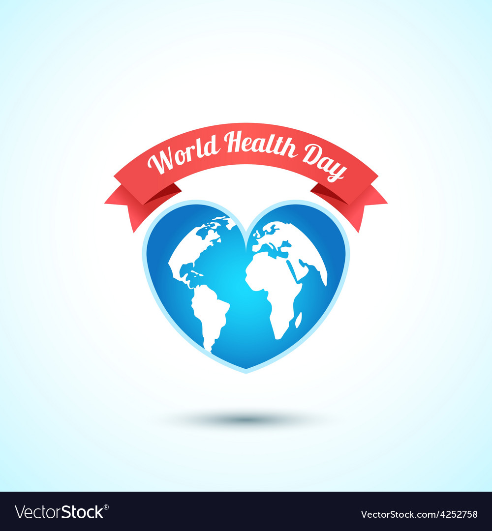 World health day concept vector | Price: 1 Credit (USD $1)