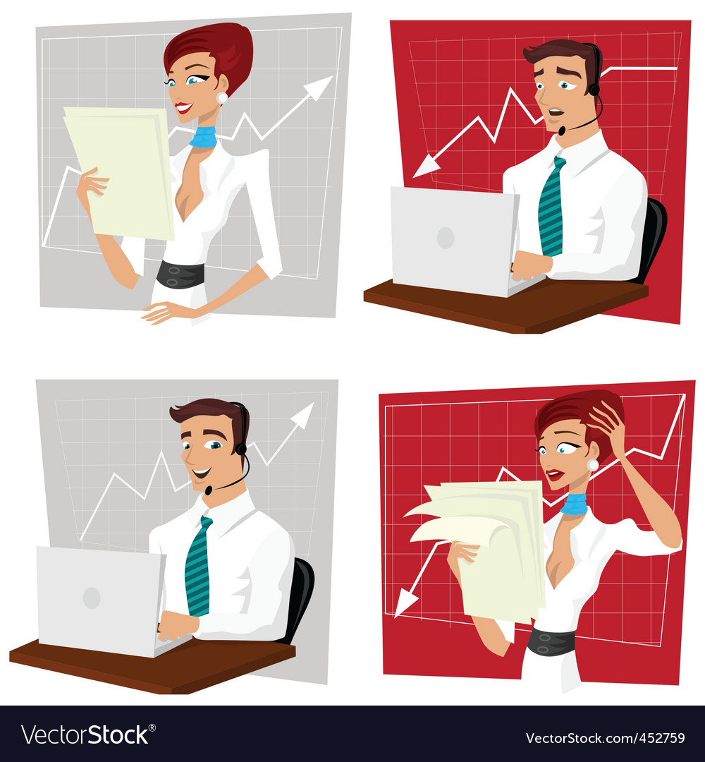 Business crisis vector | Price: 1 Credit (USD $1)