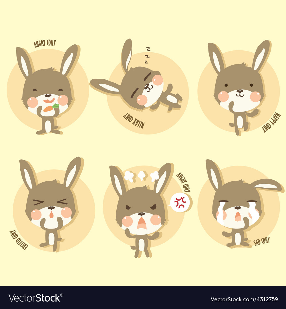Cony action vector | Price: 1 Credit (USD $1)
