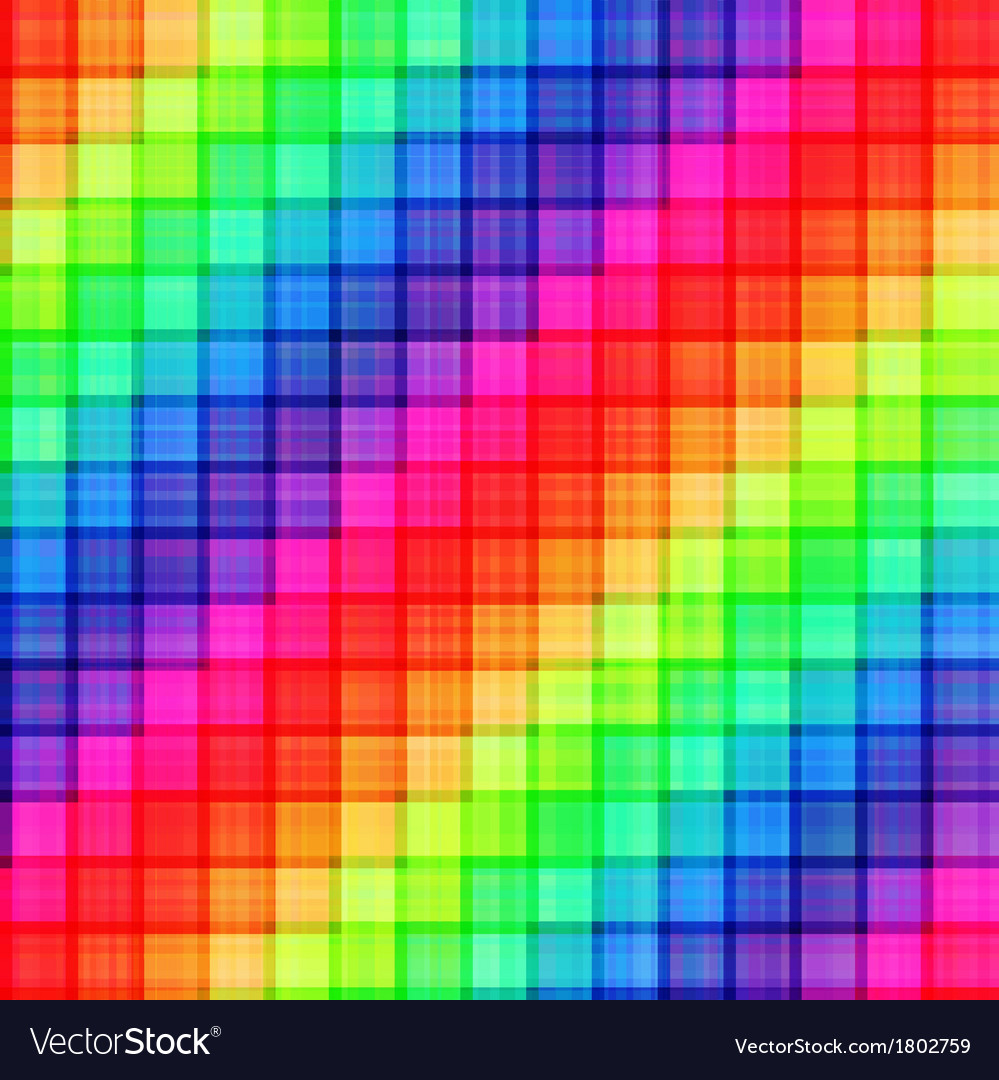 Seamless colorful rainbow colors background vector | Price: 1 Credit (USD $1)