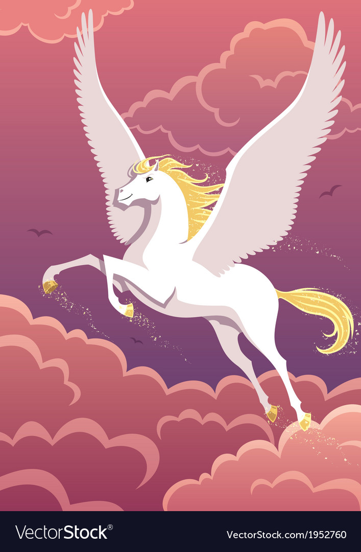 Pegasus vector | Price: 3 Credit (USD $3)
