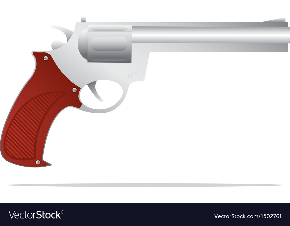 Retro pistol vector | Price: 1 Credit (USD $1)