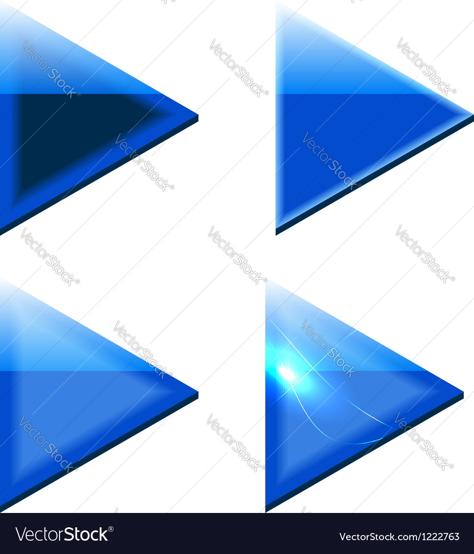 Blue arrows vector | Price: 1 Credit (USD $1)