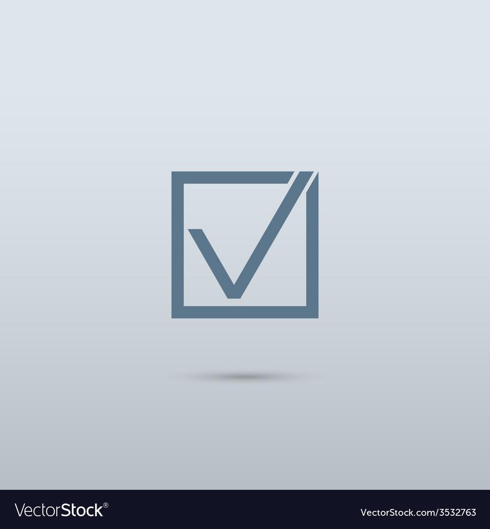 Check mark symbol vector   Price: 1 Credit (USD $1)