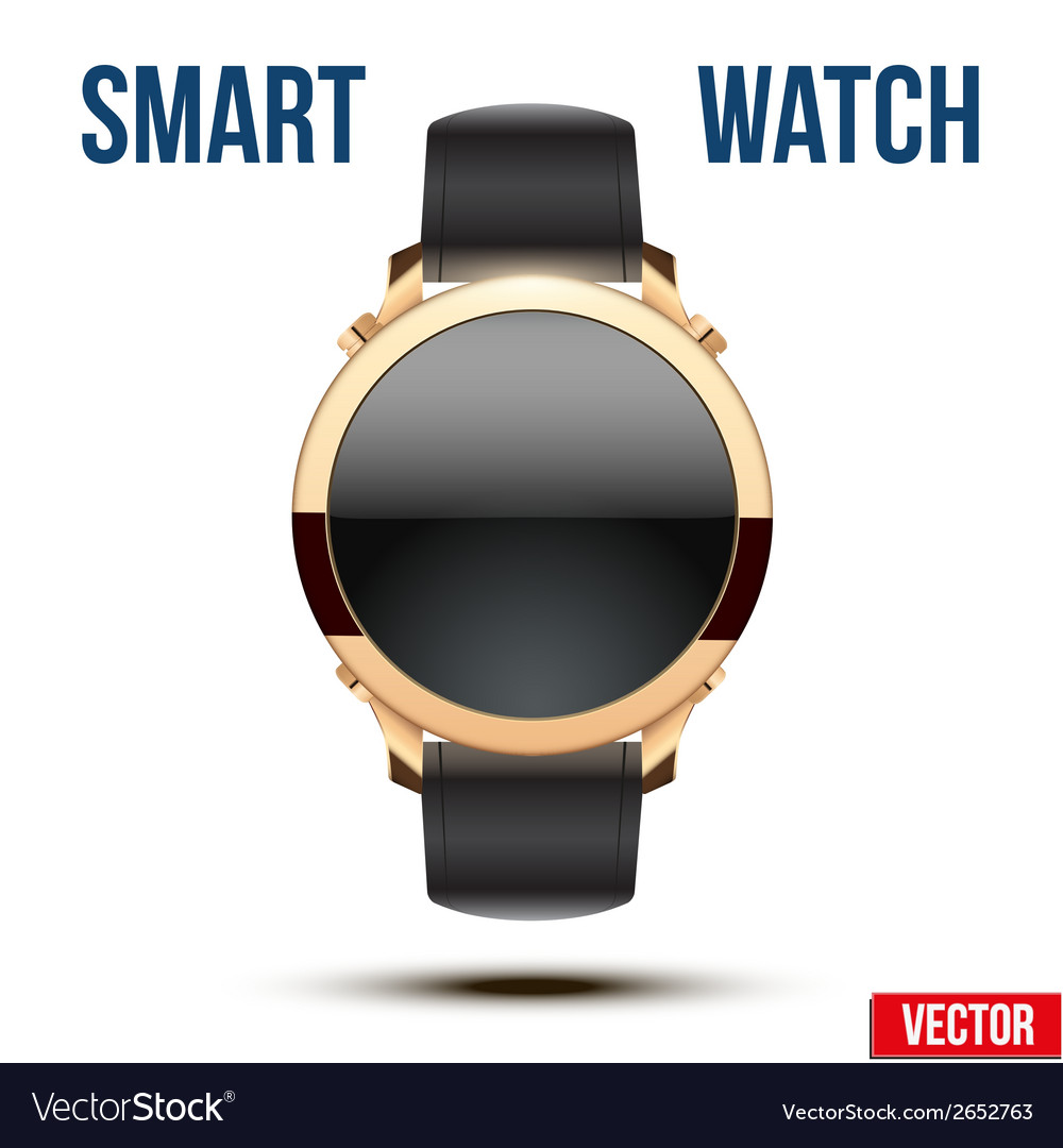 Smart design example wrist watch vector | Price: 1 Credit (USD $1)
