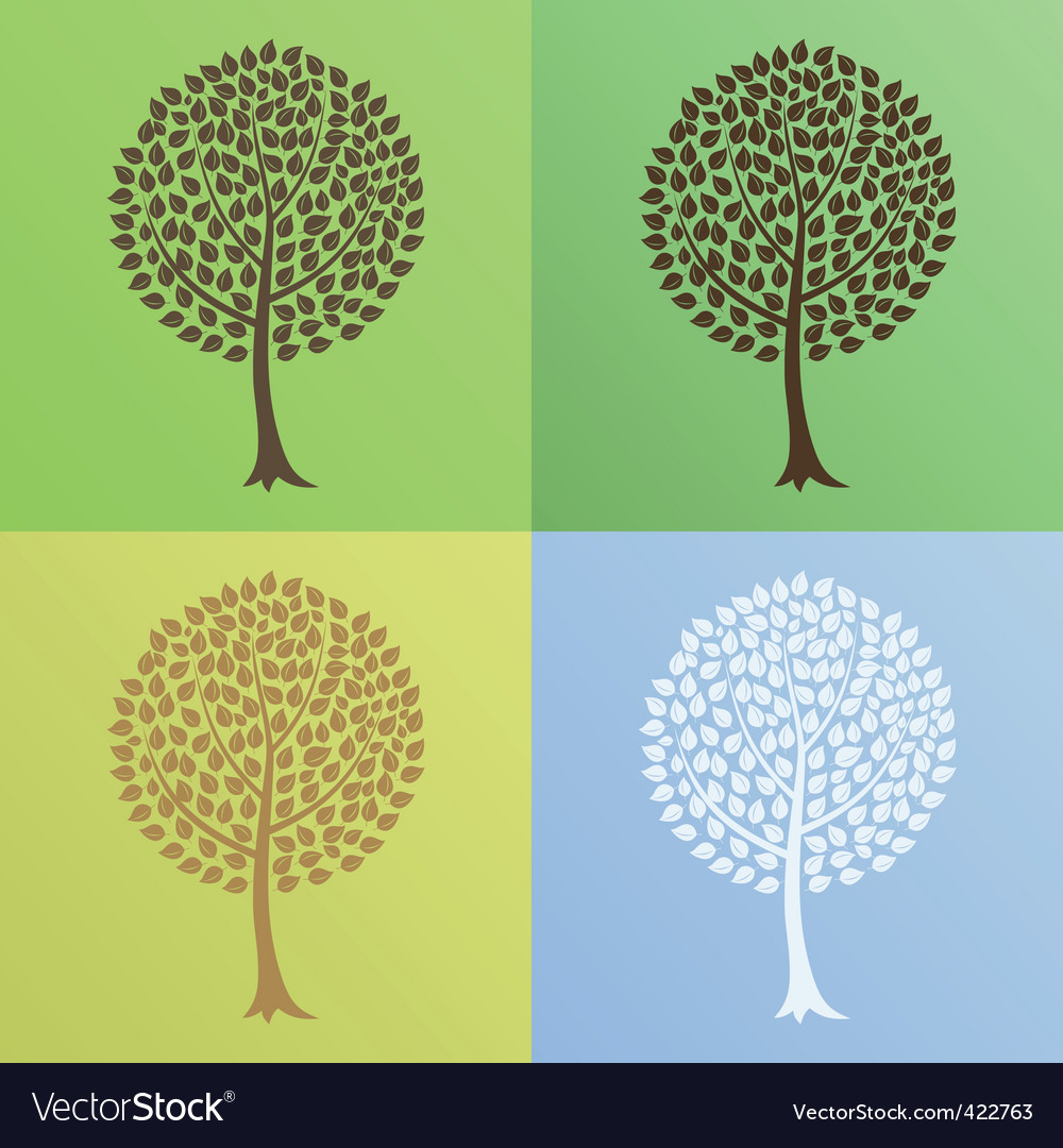 Tree6 vector | Price: 1 Credit (USD $1)