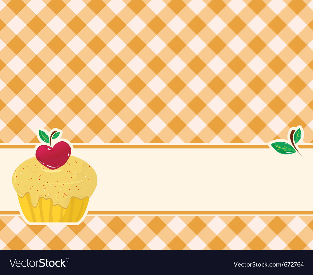 Abstract brown-yellow checkered background decorat vector   Price: 1 Credit (USD $1)