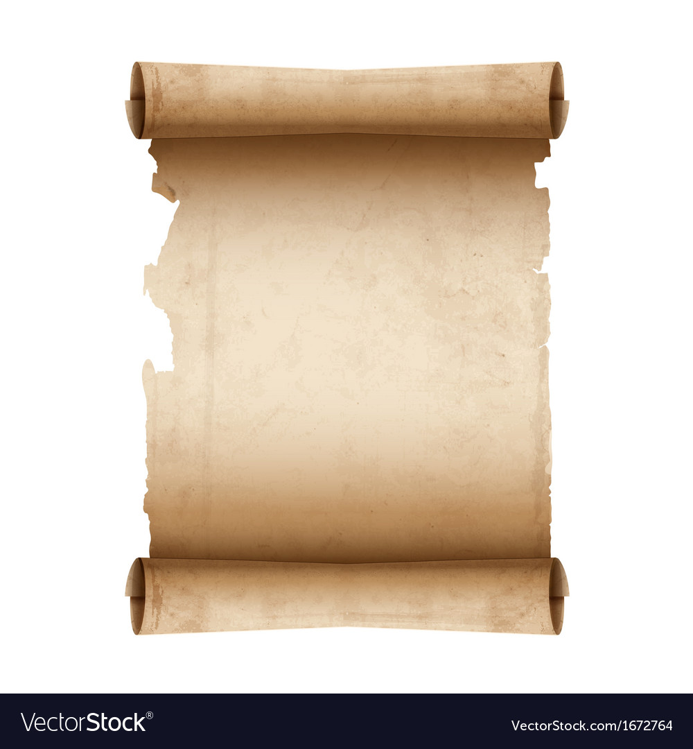 Ancient scroll paper vector | Price: 1 Credit (USD $1)