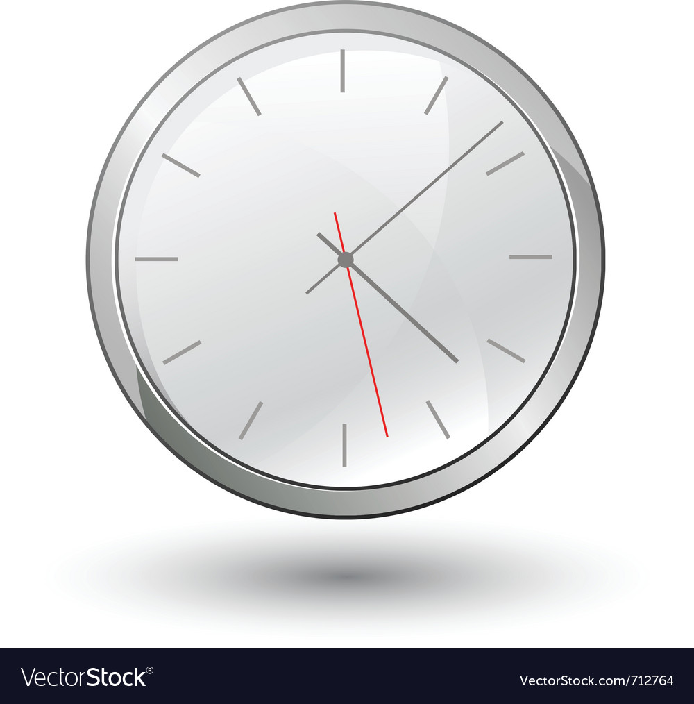 Clock vector | Price: 3 Credit (USD $3)