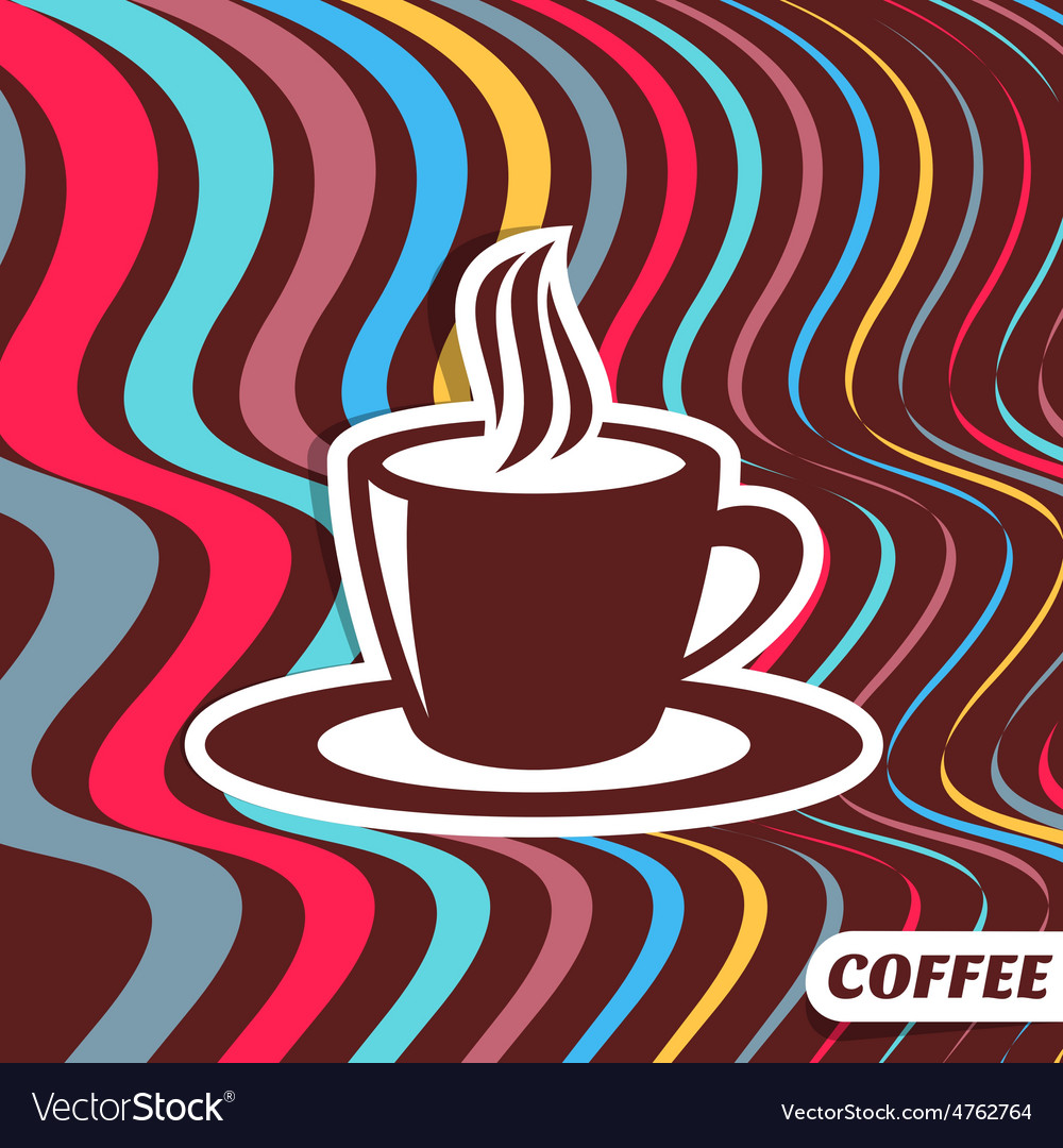 Coffee retro design vector | Price: 1 Credit (USD $1)