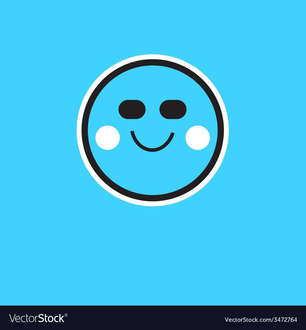 Symbol person smile vector   Price: 1 Credit (USD $1)