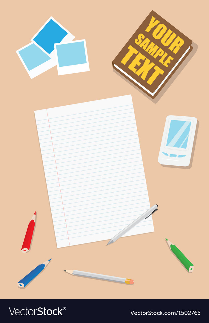 Work table vector   Price: 1 Credit (USD $1)