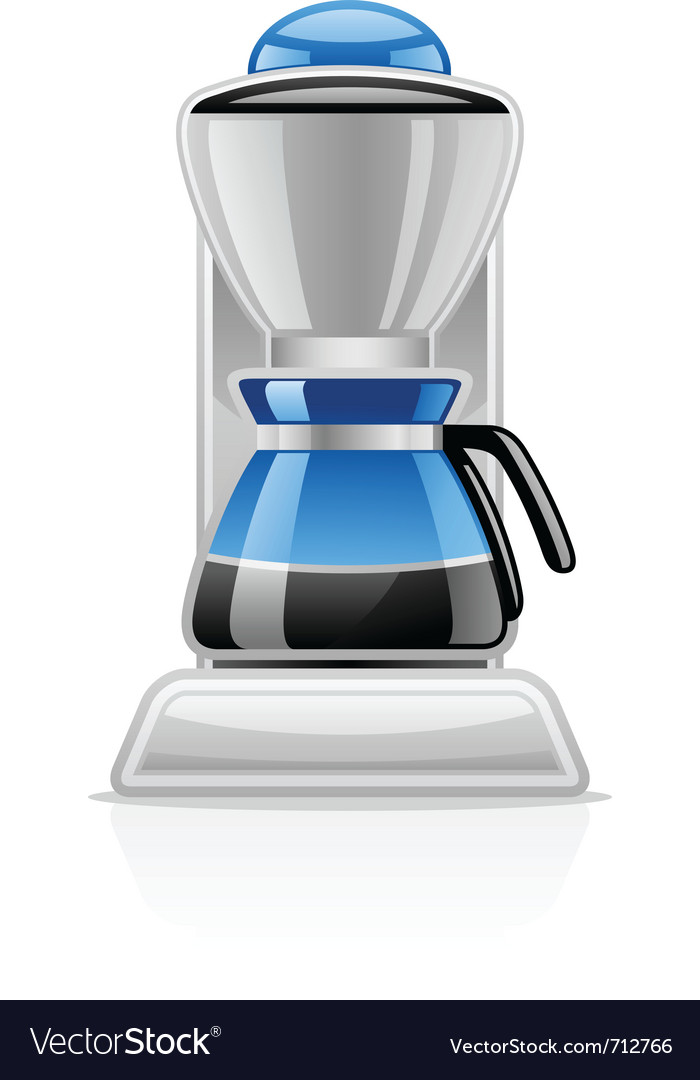 Coffee maker vector | Price: 3 Credit (USD $3)