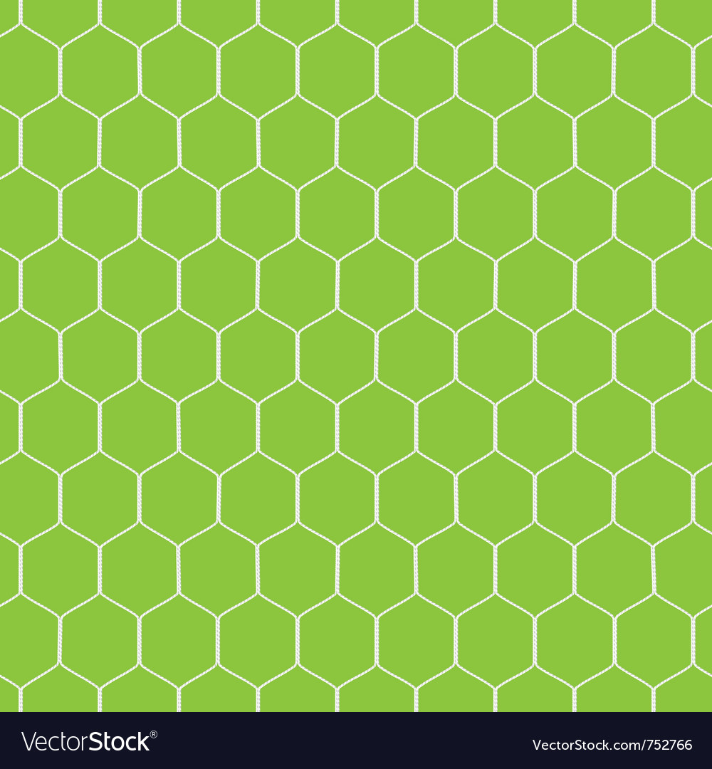 Seamless soccer goal vector | Price: 1 Credit (USD $1)
