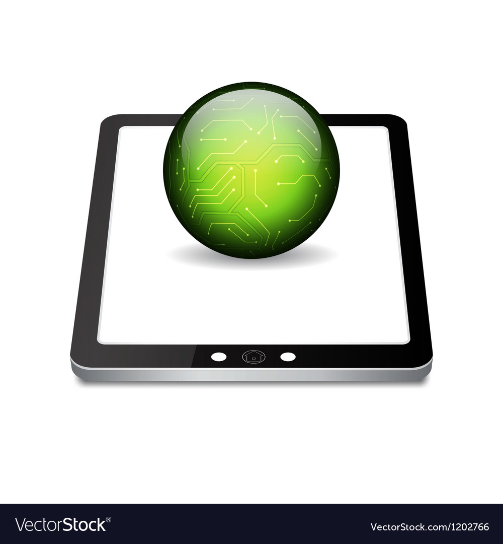 Tablet pc vector | Price: 1 Credit (USD $1)