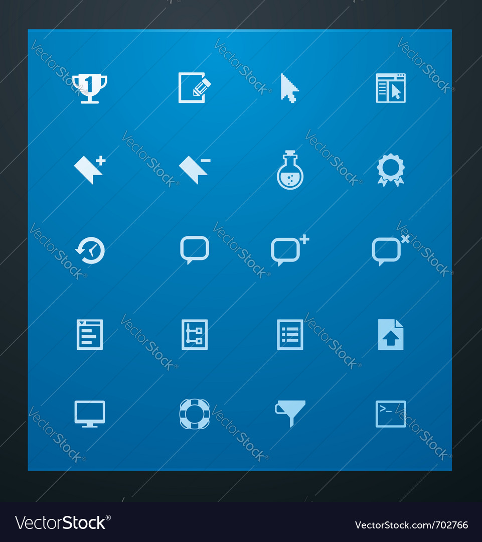 Universal glyphs 9 web icons vector | Price: 1 Credit (USD $1)