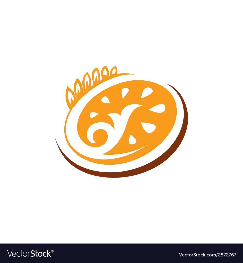 Abstract sign bakery bread vector | Price: 1 Credit (USD $1)