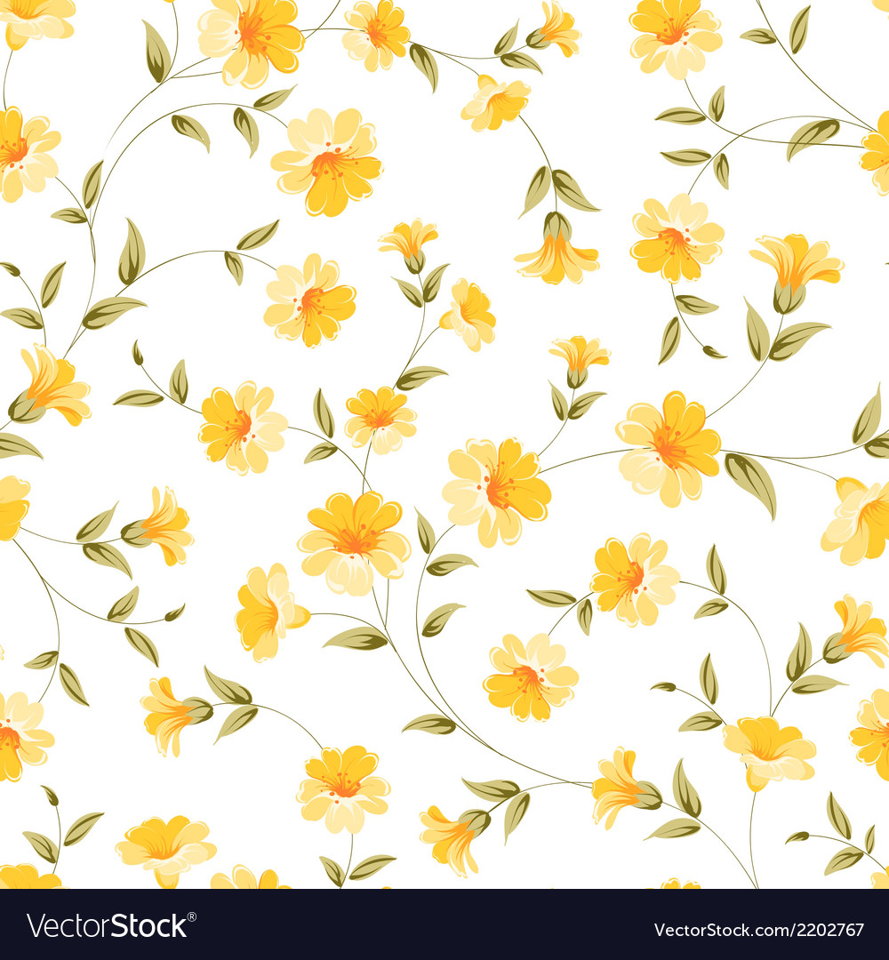 Elegant flowers fabric vector | Price: 1 Credit (USD $1)