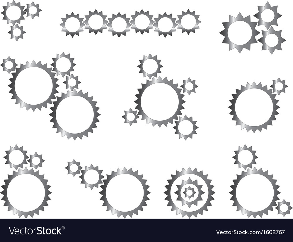 Mechanic gear wheels vector | Price: 1 Credit (USD $1)