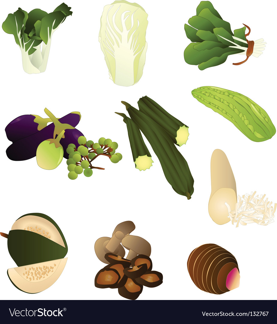 Thai produce vector | Price: 1 Credit (USD $1)