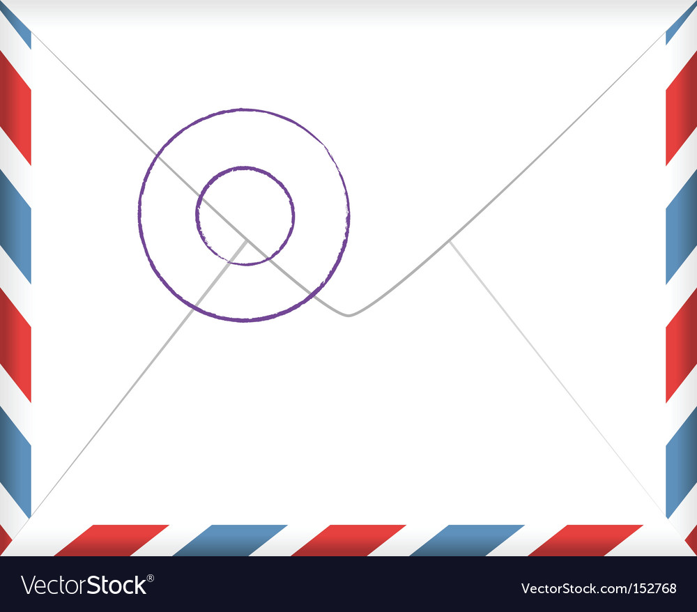 Airmail vector | Price: 1 Credit (USD $1)