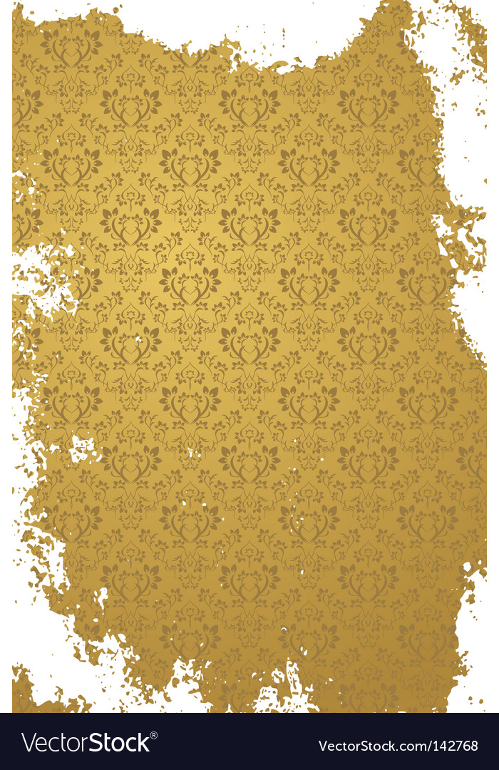 Grunge gold background vector | Price: 1 Credit (USD $1)