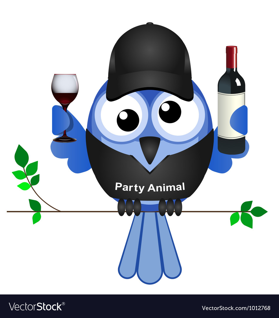 Party animal vector | Price: 1 Credit (USD $1)