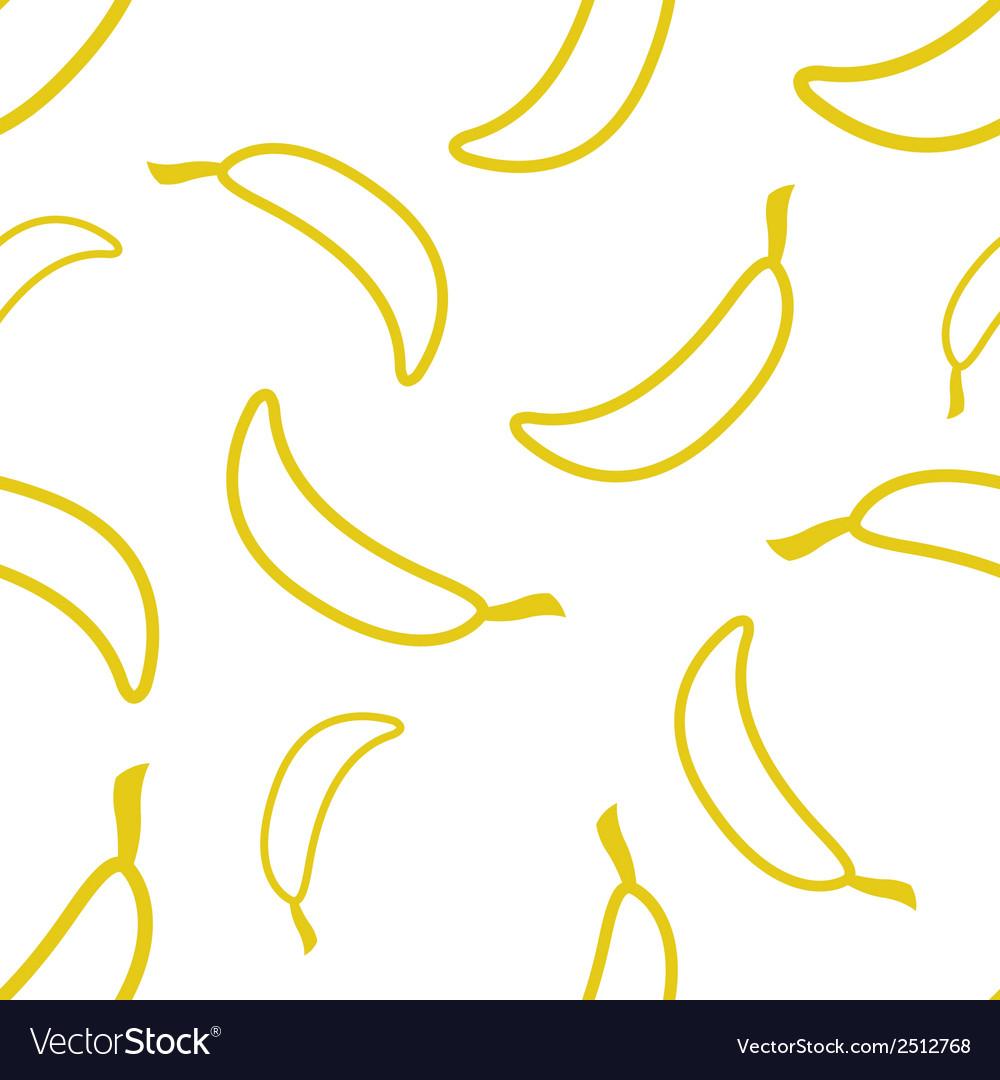 Pattern circuit bananas vector | Price: 1 Credit (USD $1)