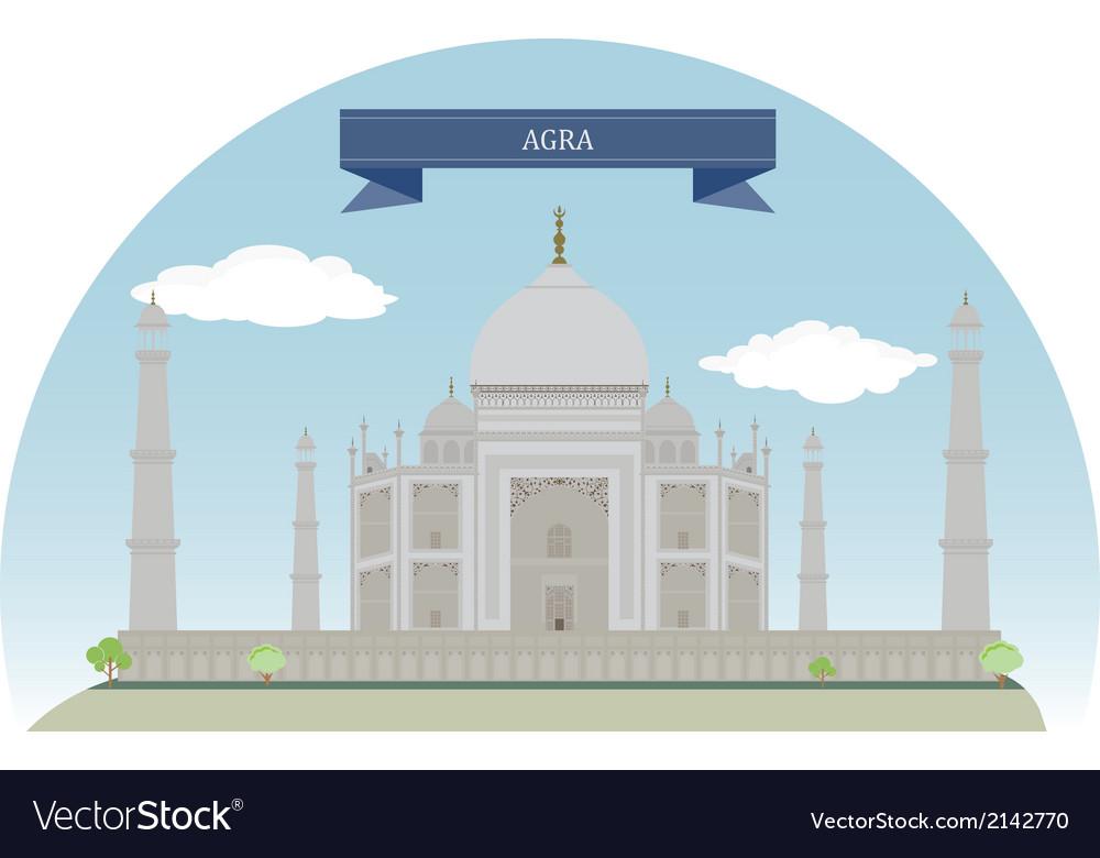 Agra vector | Price: 1 Credit (USD $1)