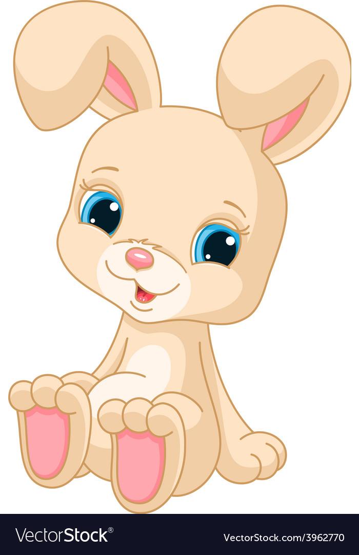 Cute rabbit vector | Price: 3 Credit (USD $3)