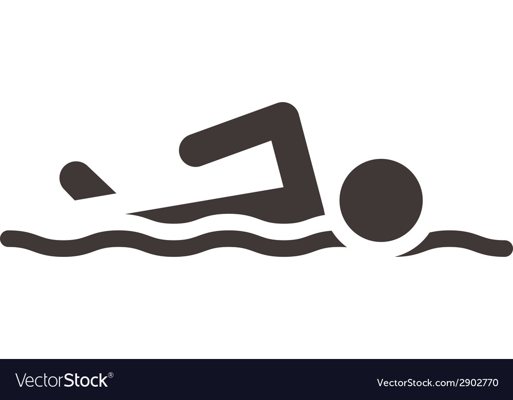 Swimming icon vector | Price: 1 Credit (USD $1)