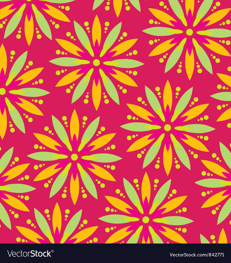 Flower wallpaper vector | Price: 1 Credit (USD $1)
