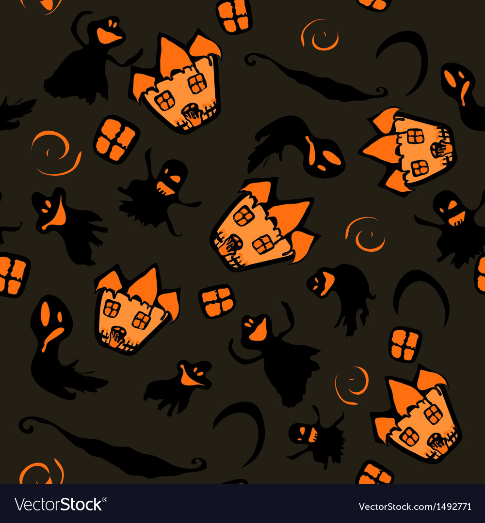 Haunted halloween witch house texture vector   Price: 1 Credit (USD $1)