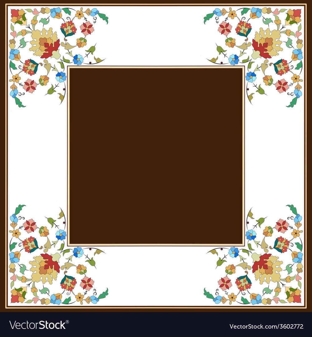 Artistic ottoman pattern series twenty eight vector   Price: 1 Credit (USD $1)