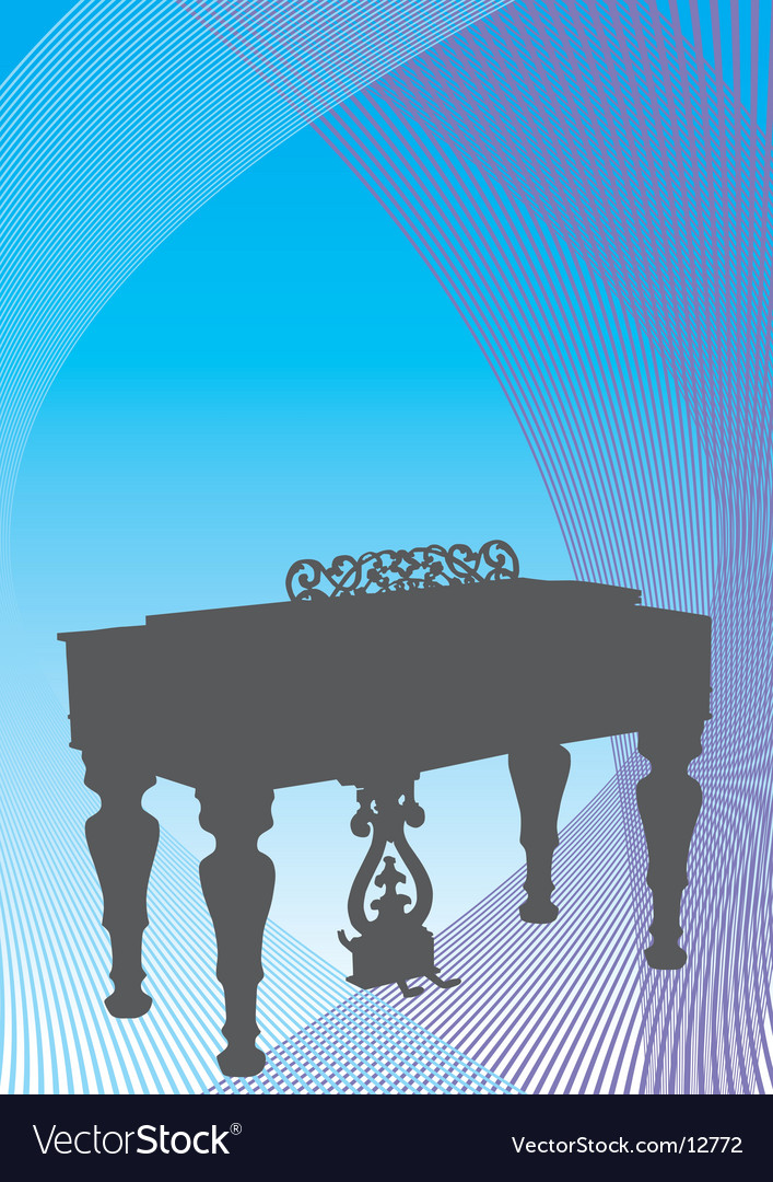 Musical harpsichord vector | Price: 1 Credit (USD $1)