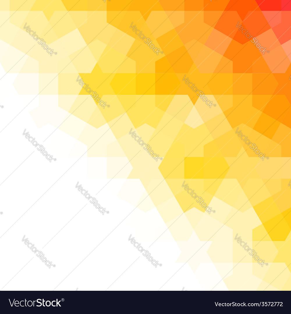 Orange and white arabic background vector | Price: 1 Credit (USD $1)